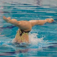 Synchroonzwemmen bij zwemvereniging De Dolfijn Amsterdam
